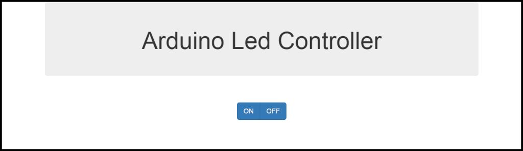 ArduinoLedController