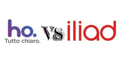 Iliad vs ho mobile