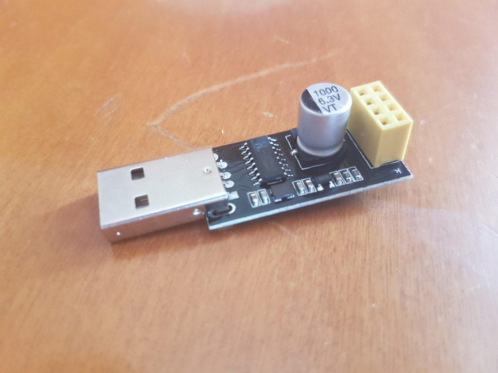 programmatore ESP01